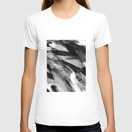 Abstract Artwork Greyscale #1 T-shirt