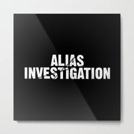 Jessica Jones - Alias investigations Metal Print