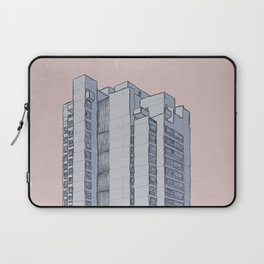 Brutalist Architecture Apartment Block Laptop Sleeve