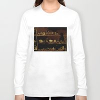 mineral Long Sleeve T-shirts featuring Mineral City I by antecedence