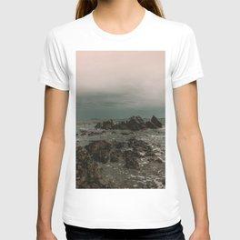 Dark Blue Rocky Ocean T-shirt