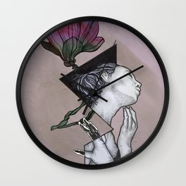 Euphoric Female Architecture  Wall Clock