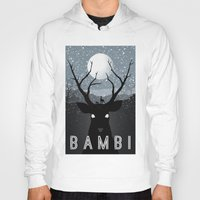 infamous Hoodies featuring Bambi by Rowan Stocks-Moore