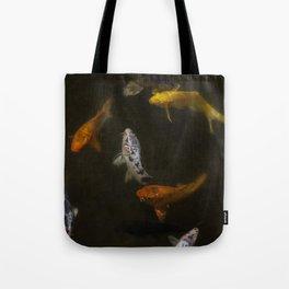Koi Circle Tote Bag
