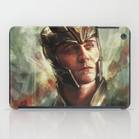 prince iPad Cases featuring The Prince of Asgard by Alice X. Zhang