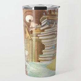 The Library Islands Travel Mug