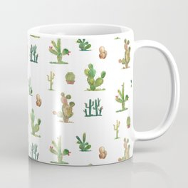 Watercolor Cactus Garden Coffee Mug
