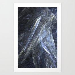 Smokey Gossamer  Art Print