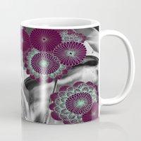geode Mugs featuring Geode 5 by michiko_design