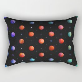 Polka in Space (1) Rectangular Pillow