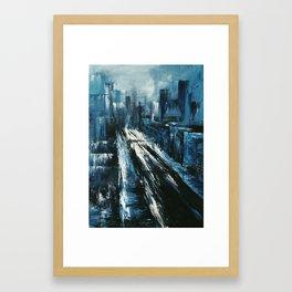 """Manhattan"" Painting Framed Art Print"