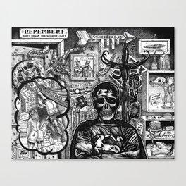 Superdead Canvas Print