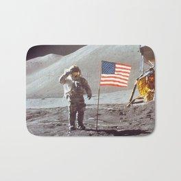 American Moon Landing Bath Mat