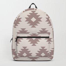 Southwestern Pattern 431 Beige Backpack