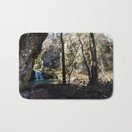 Alone in Secret Hollow with the Caves, Cascades, and Critters - First Glimpse of the Falls Bath Mat