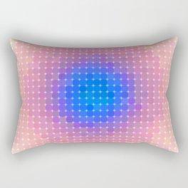 Ripple VI Pixelated Rectangular Pillow