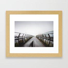 Glasgow Framed Art Print