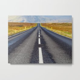 Road to Nowhere. Metal Print