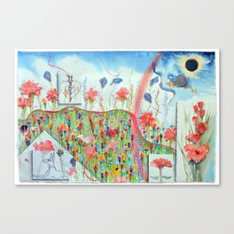 Atlas of the Year, Summer, Five, Leo Canvas Print