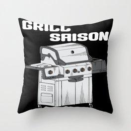 Grill Saison Throw Pillow