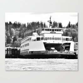 Puget Sound Ferry Canvas Print