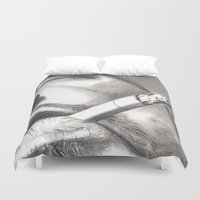 smoke Duvet Covers featuring Smoke by ArtLm