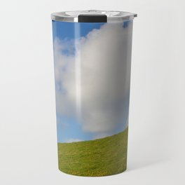 Blue sky Travel Mug