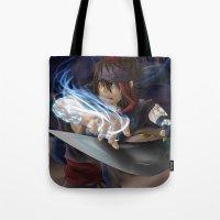aladdin Tote Bags featuring Aladdin by Kolshio