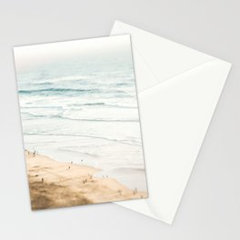 California, Los Angeles, beach, seaside, ocean, surf Stationery Cards