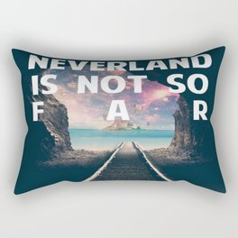 Take Me To Neverland Rectangular Pillow