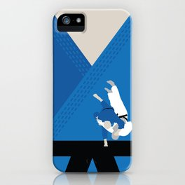 Judo, one of the three martial arts i learnt personally. iPhone Case