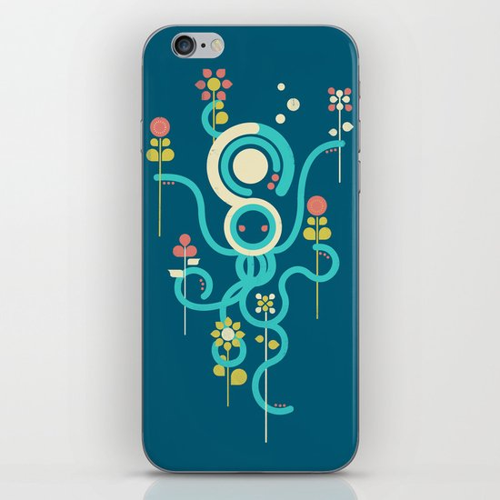 The Gardener iPhone & iPod Skin