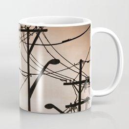 Industry poles vintage Coffee Mug