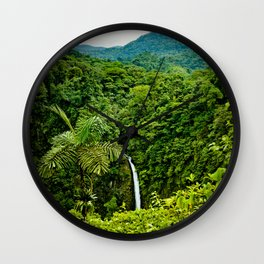 La Fortuna Wall Clock