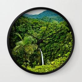 La Fortuna Wall Clock