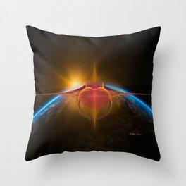 Star Rider Earth Throw Pillow