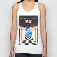 heaven Tank Tops featuring heaven by Kirk Gadget