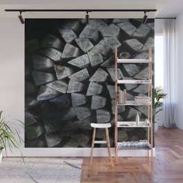 The White Wolf Of The Pack Wall Mural