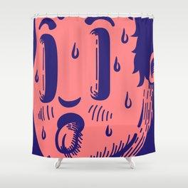 HUNGY BOI Shower Curtain