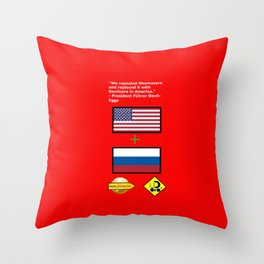 Repealed Obamacare Throw Pillow
