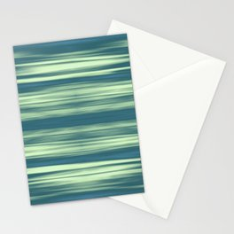 Abstraction Serenity in Afternoon at Sea Stationery Cards