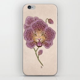 Wild Orchid iPhone Skin