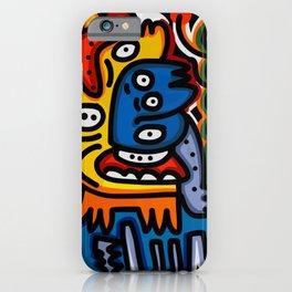 Black Maya Street Art Graffiti Inspired iPhone Case