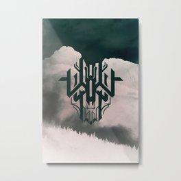 The Haunt Metal Print