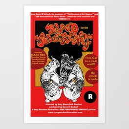 Blood for the Blerewolf Art Print