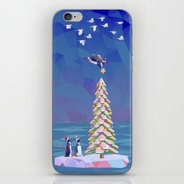 Christmas Flight iPhone Skin