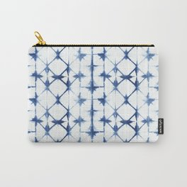 Shibori Diamonds Carry-All Pouch
