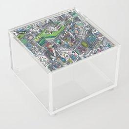 The American Football Media Factory Acrylic Box