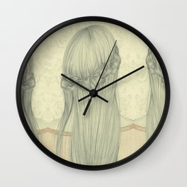 longhaired Wall Clock