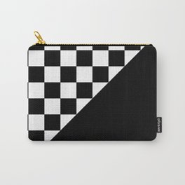 PATTERN DESIGN (BLACK-WHITE) Carry-All Pouch
